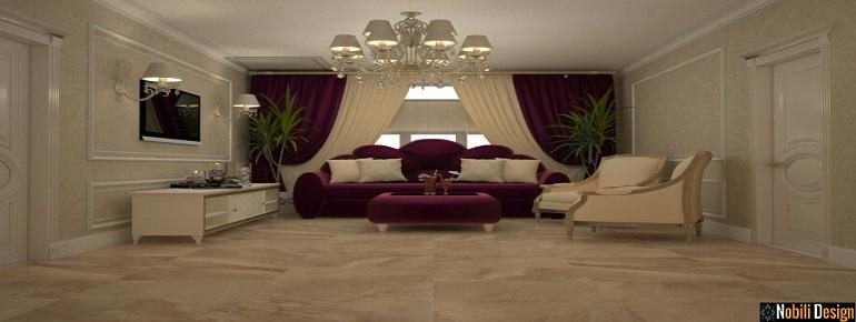 Design amenajari interioare vila clasic de lux preturi.