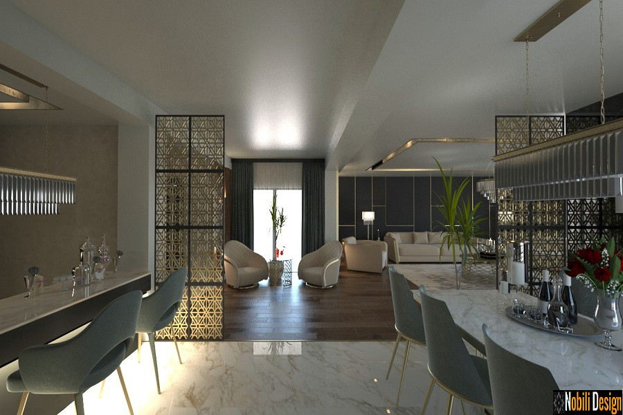 Modern interior design in Bucharest
