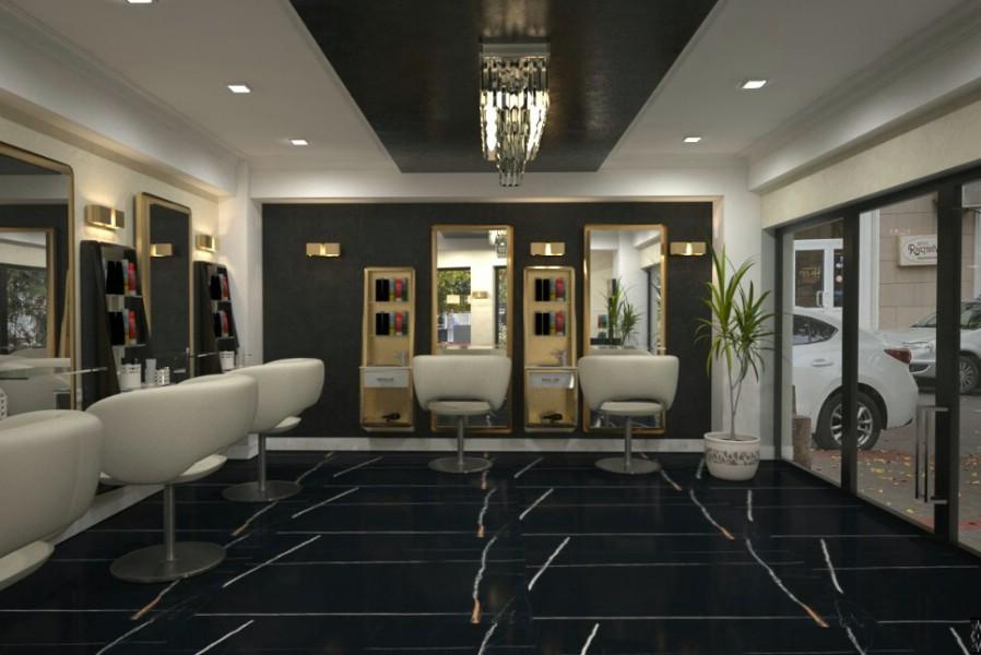 Design interior salon de infrumusetare in Bucuresti