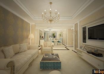 design interior case stil clasic.
