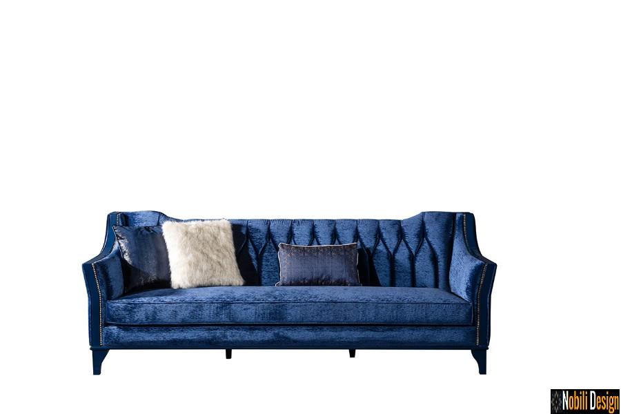 interior design soggiorno classico lussuoso divano mobili | Soggiorno a Bucarest con mobili classici di lusso.