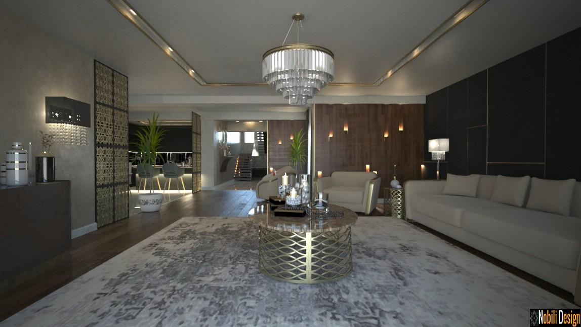 design interior casa moderna constanta   Poze interioare case de lux.