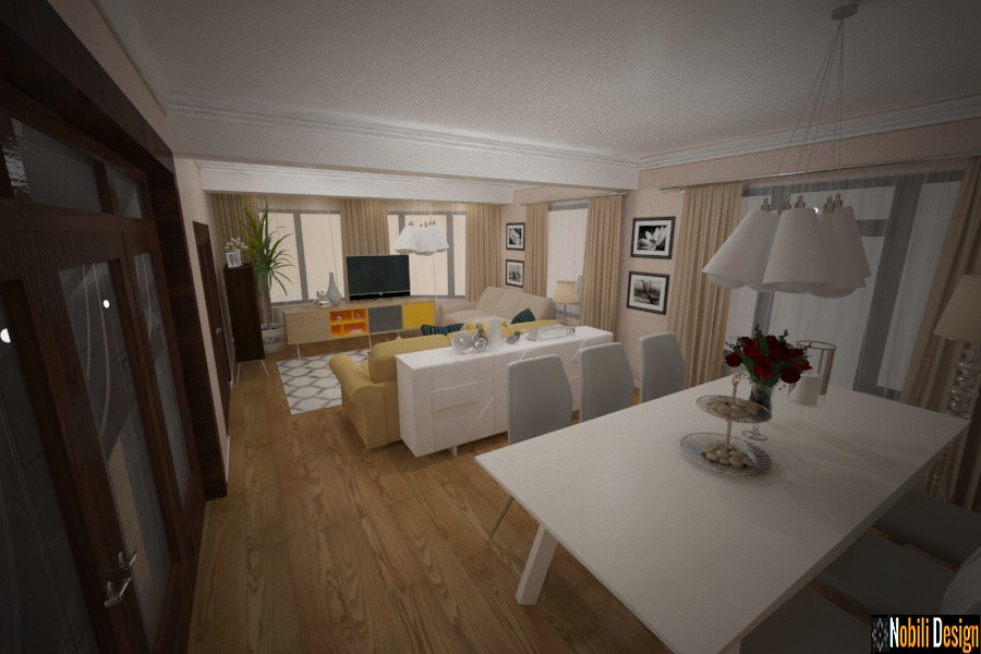 deseño de interiores casa moderna bacau | Proxectos de deseño de interiores de Bacau.