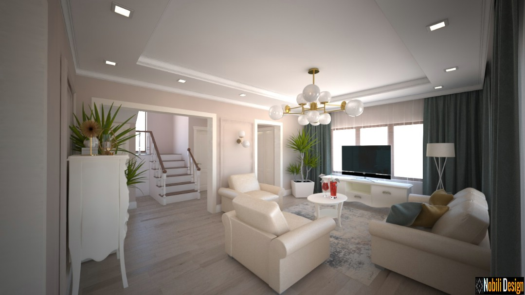 design de interiores moderna casa clássica em buzau | Designer de interiores em Buzau.