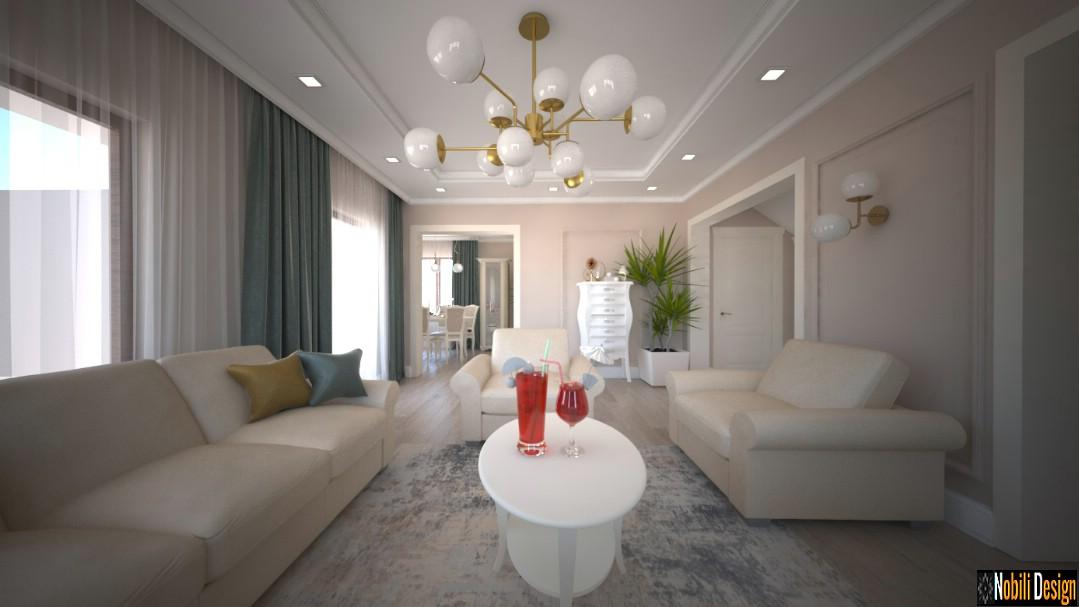 Design interior pentru casa clasic modern de lux