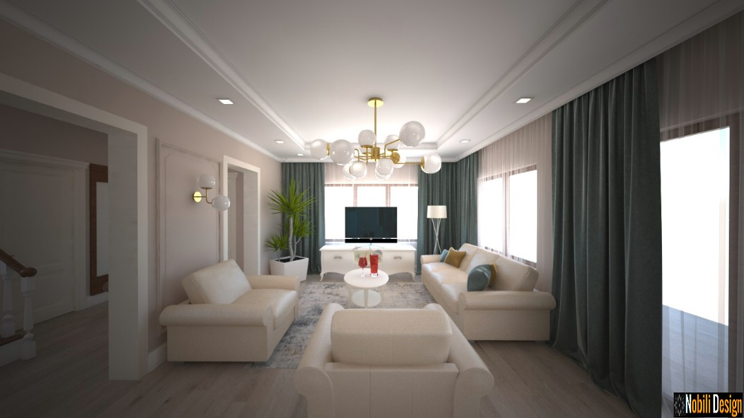 design de interiores moderna casa clássica em buzau | Empresa de design de interiores Buzau.