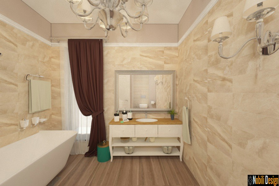 design interior baie clasic modern tulcea