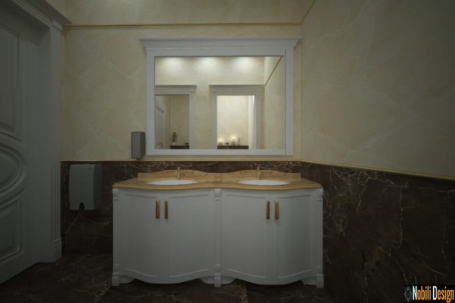 interior design bath classic luxury brasov | Modernong interior nga mga modernong kasilyas sa Brasov.