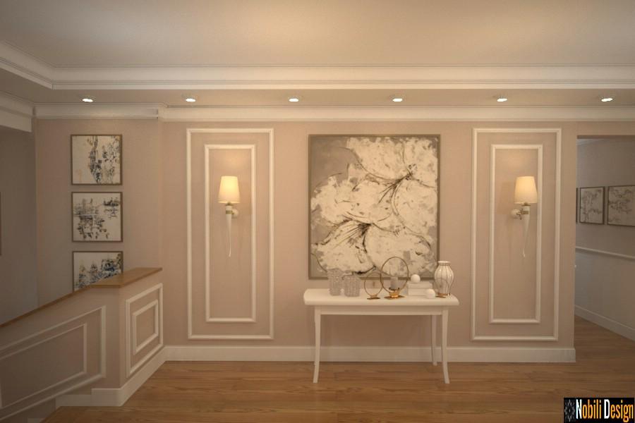 iç tasarım projesi villalar modern klasik tarzı | İç mimar Brasov.