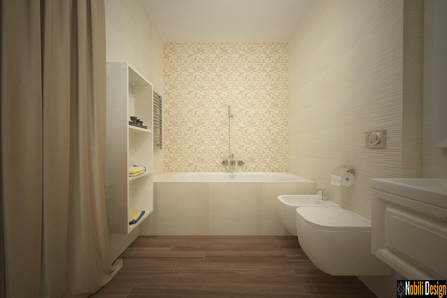 Casas de banho de design de interiores casas clássicas Targoviste.
