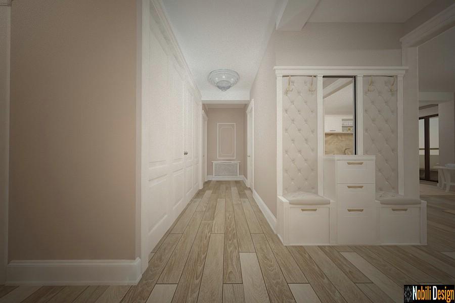 Pasillo de diseño interior de la casa clásica targoviste | Diseño de interiores Targoviste precio.