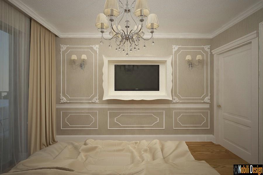 diseño interior dormitorio moderno clásico casa targoviste | Arreglo de la casa clásica de Targoviste.