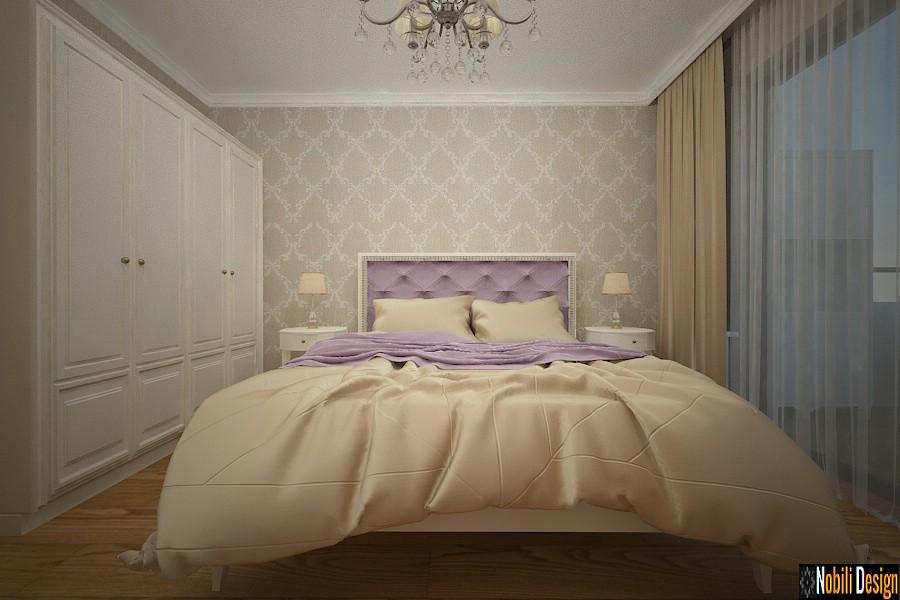 dormitorio de diseño interior clásico de la casa targoviste | Interior de la casa clásica de Targoviste.