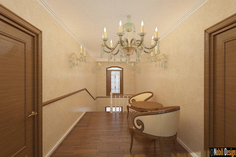 salón de decoración de la casa clásica suceava   Diseño de interiores casas Suceava.