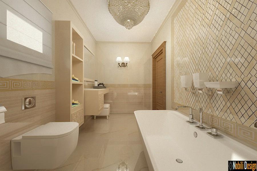 diseño de interiores casas clásicas Arreglo de casa de lujo clásico en Suceava.
