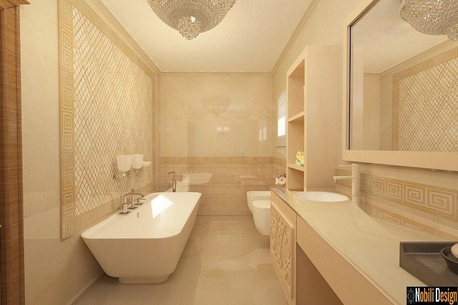design interior baie suceava | Amenajare baie clasica in Suceava.