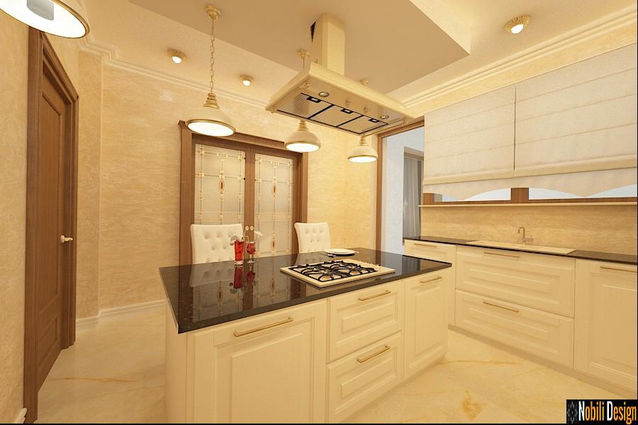 Diseño de interiores de cocina en suceava   Empresa de Diseño de Interiores Suceava.