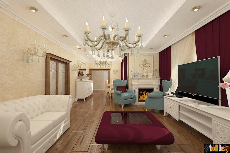 Design interior casa clasica in Suceava