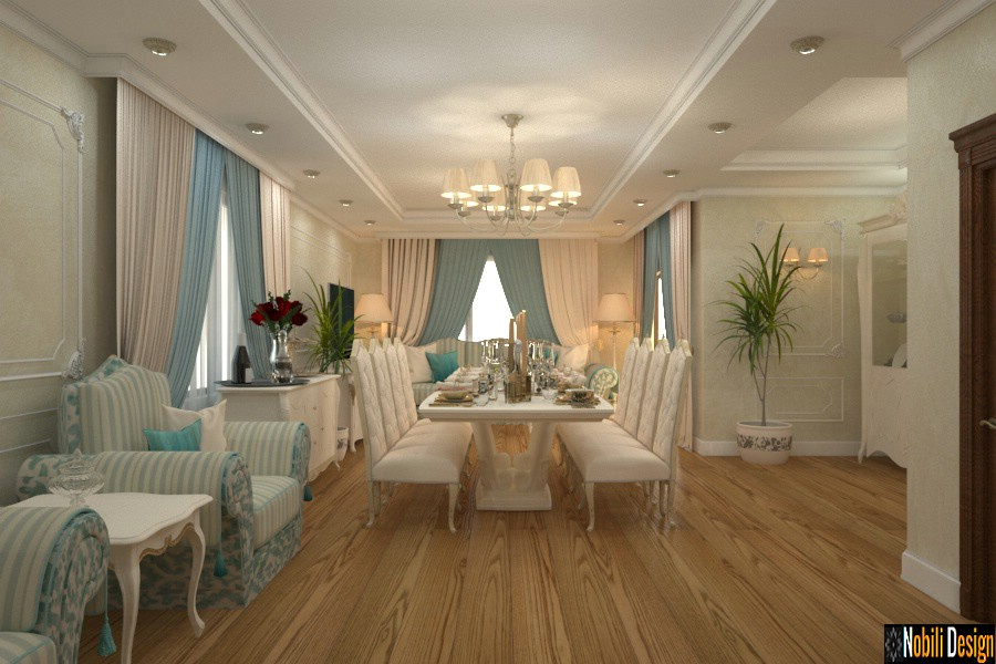 Interior design classic house in Giurgiu