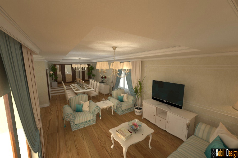design interior clasic case giurgiu