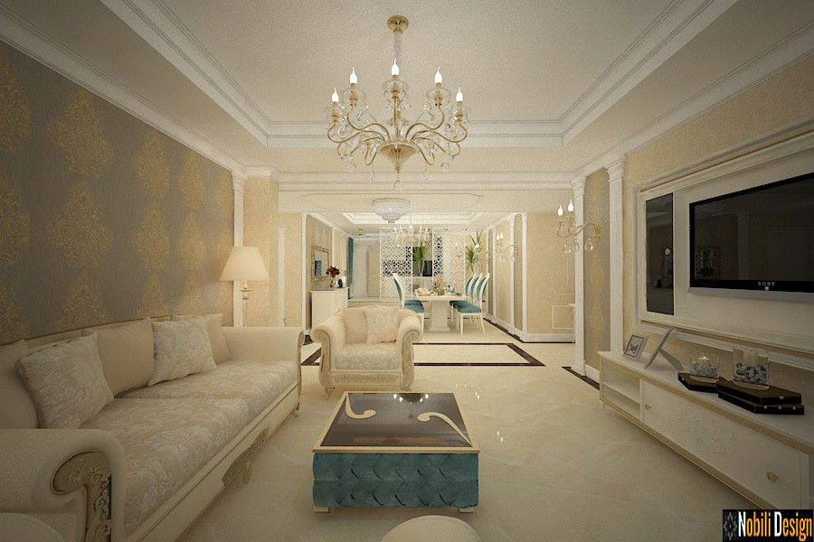 Design interior classic style house in Bucharest