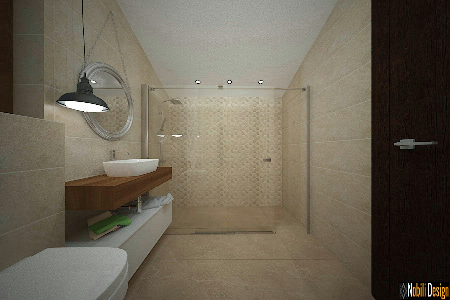 Modern bathroom design Constanta Modern interior design pictures.