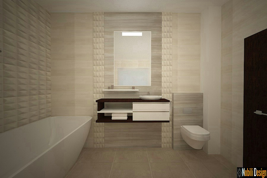Modern interior design | Modern bathroom design.