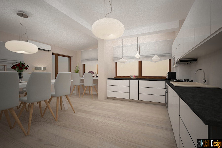 Modern interior design Constanta Kitchen arrangement house Constanta.