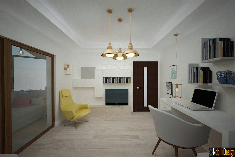 Sala de estar de design de interiores Constanta | Design de interiores da casa de Constanta.