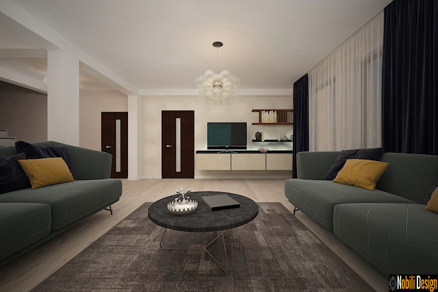 interior designer constant price Modern home arrangement in Constanta.