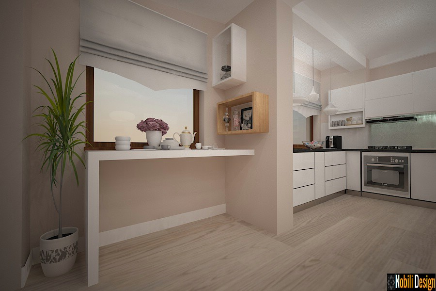 Interior design pictures of modern kitchens Kitchen arrangement house Constanta.