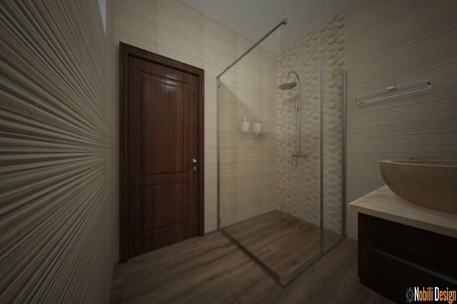 baño casa de diseño estilo moderno urziceni | Modelos de baños modernos.