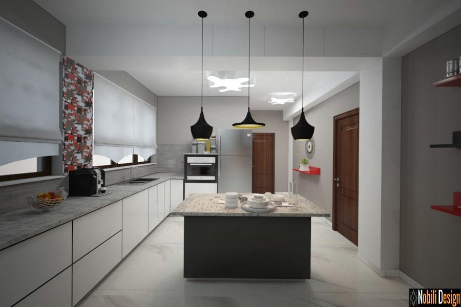 design interior bucatarie casa moderna urziceni | Design interior case moderne.