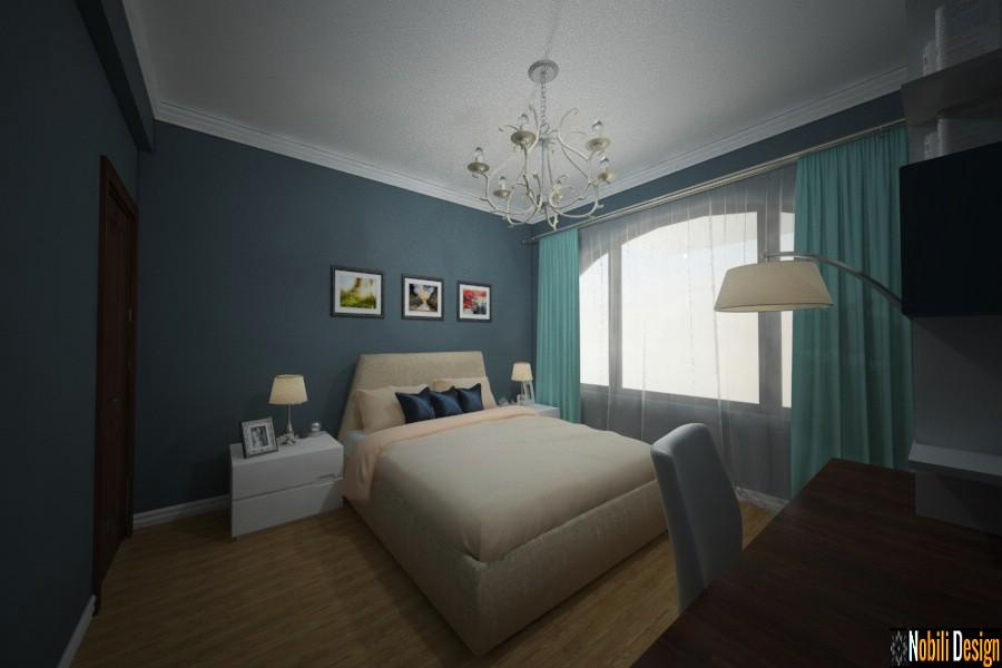 ontwerp binnekant slaapkamer moderne huis urziceni | Binneontwerp van Urziceni moderne huise.