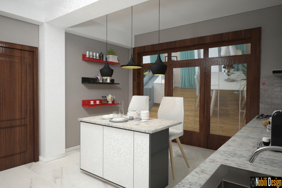interieurontwerp firmas urziceni ialomita | Moderne kombuishuis versiering.