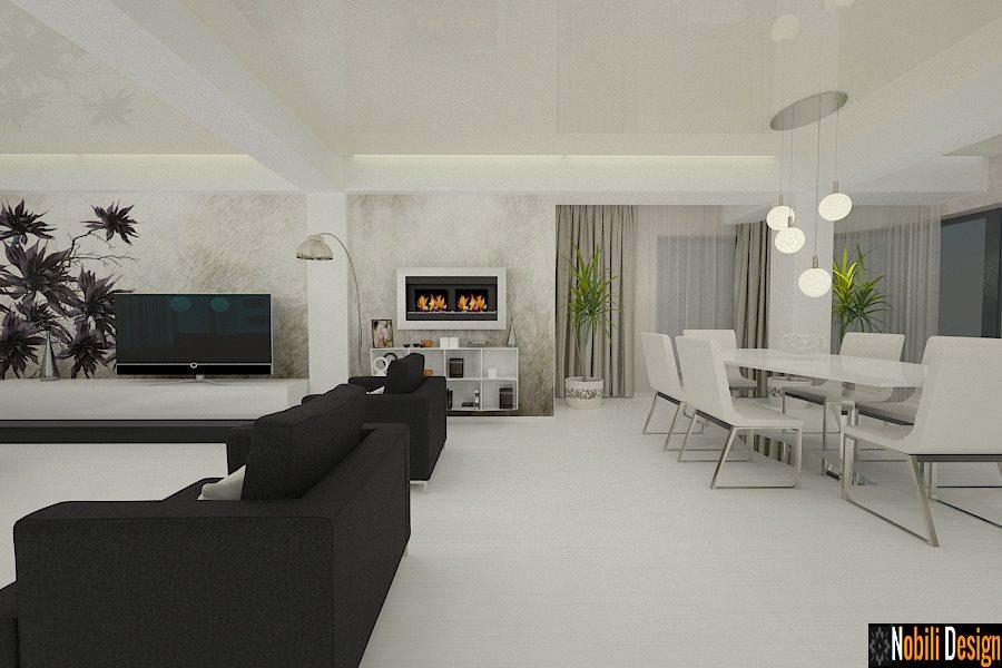 Amenajare Interioara Casa Moderna Bucuresti