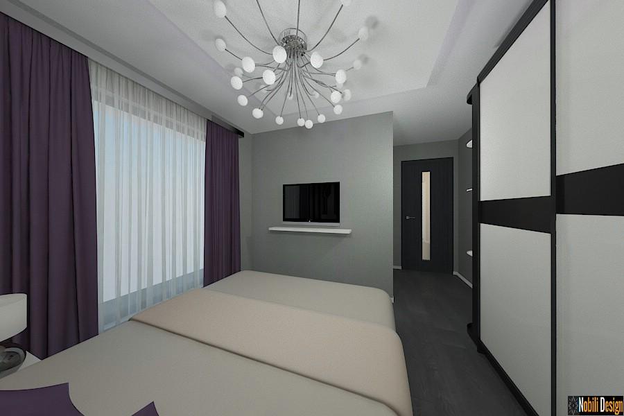 Amenajari interioare - dormitor - case - moderne - bucuresti.