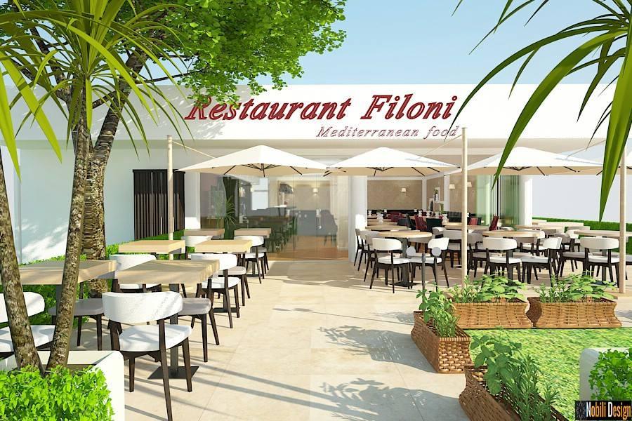 Dış mekan terasları restoranı Mamaia için düzenlemeler.