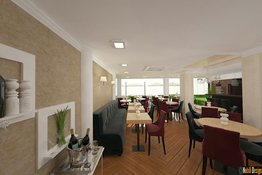 Design - interior - amenajare - restaurant - Constanta
