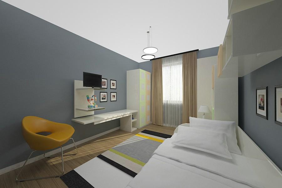 Design interior dormitor casa moderna Braila