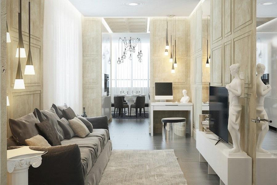 Beautiful Design   Interior   Living   Casa   De   Lux   Bucuresti.