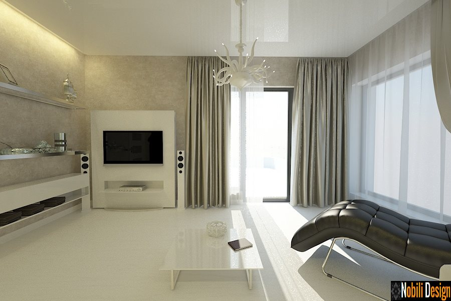 Design interior case stil clasic modern amenajari for Case moderne design