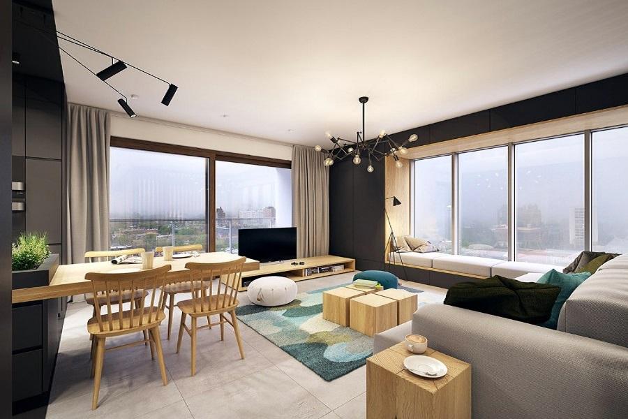design interior clasic case apartamente modern