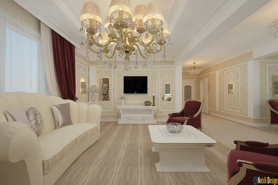 Design interior vila clasica de lux Ialomita