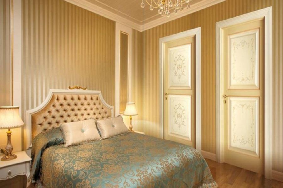 Portas interiores - clássicas - madeira - Constanta.