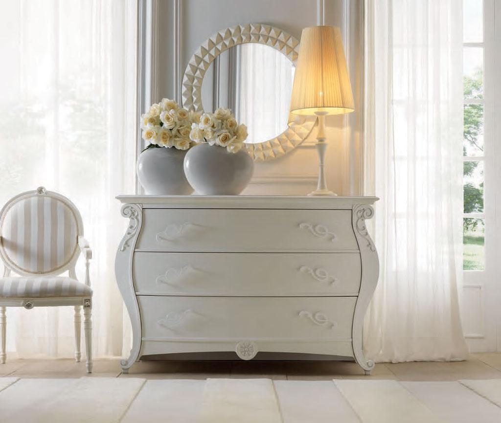 comoda dormitor lemn clasic Eros Meteora Italia
