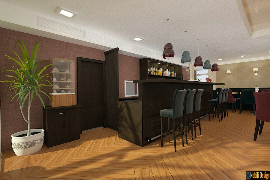 Design - amenajari - interioare - baruri - restaurante.