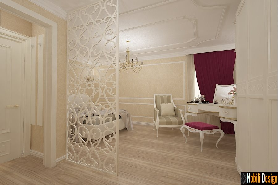 Design interior apartament clasic Bucuresti