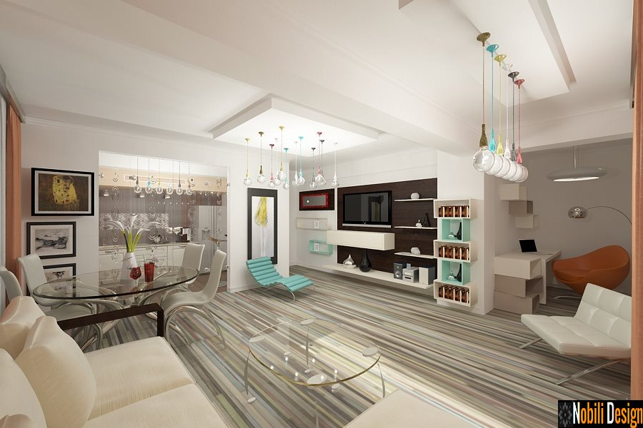 Design - interior - apartament - modern - Bucuresti - pret