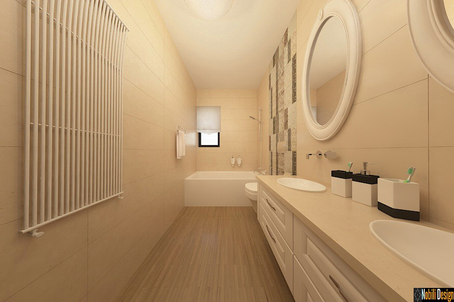 Design - interior - baie - apartament - 4 camere - Bucuresti - pret.